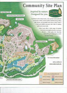 Community Map Cedar Creek Aiken Sc